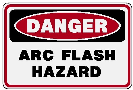 Danger - Arc Flash Hazard Image
