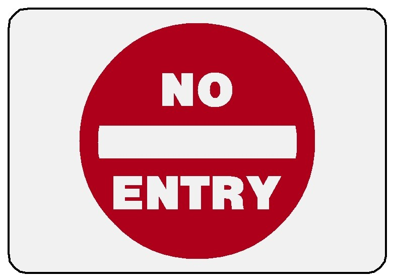 No Entry Image