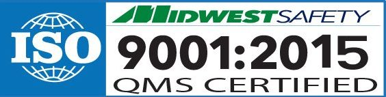 Midwest Safety ISO 9001:2015 certified